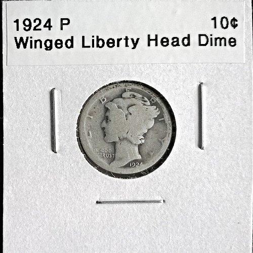 1924 P Winged Liberty Head Dime
