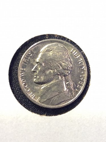 1982 D Jefferson Nickel