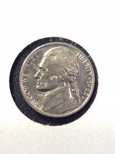 1982 D Jefferson Nickel