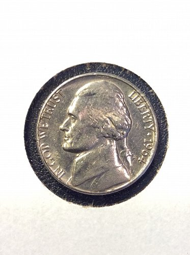 1964 D Jefferson Nickel