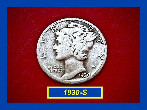 1930-S   Mercury Dime • Circulated   (#3174)