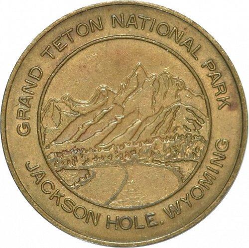 Lucky Coin, Grand Teton National Park, Jackson Hole, WY. (Item 378)