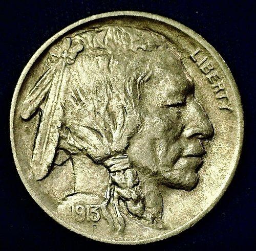 1913-P Type 1 Buffalo Nickel -- Nice Higher Grade Coin