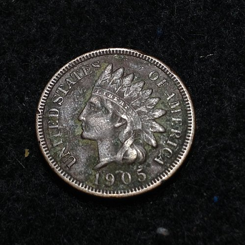 1905 P Indian head cent