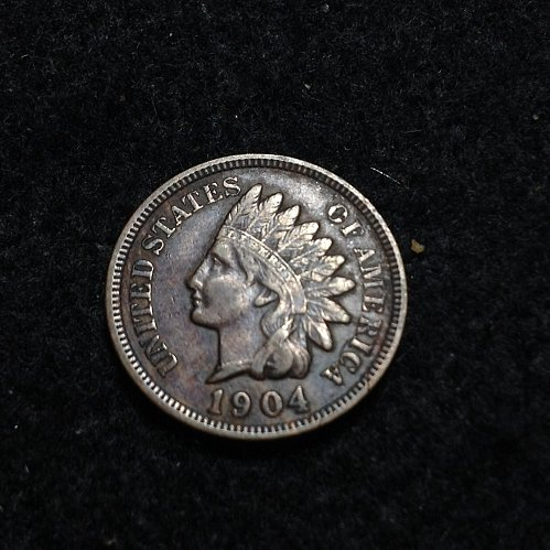 1904 P Indian head cent