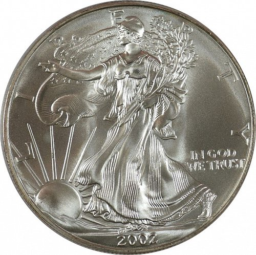 2014 American Silver Eagle, (Item 385)