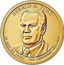 2016 P &  D   - GERALD FORD  GOLDEN DOLLAR'S