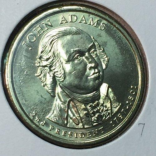2007-D Presidential Dollar:  John Adams (40806)