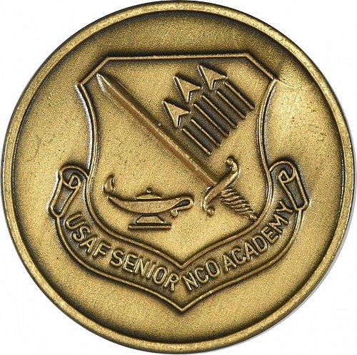 Challenge Coin, USAF Senior NCO Acadamy, Heritage Hall, New, (Item 391)
