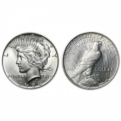1926 Peace Silver Dollar - BU