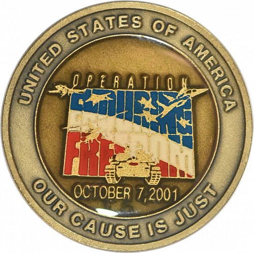 Challenge Coin, Operation Enduring Freedom (Item 382)