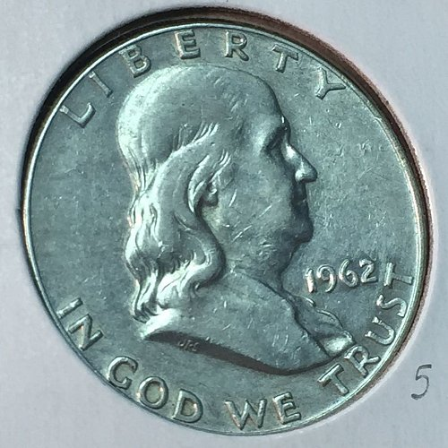 1962-D Franklin Half Dollar (10311)