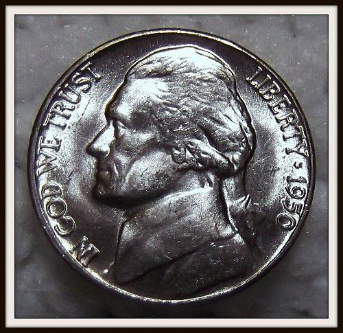 1950 - D Jefferson Nickel (BU)