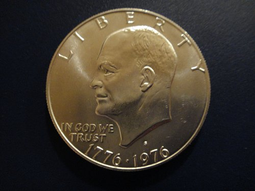 1976-S SILVER Eisenhower Dollar MS-65 (GEM) Nice Spot Free Coin!