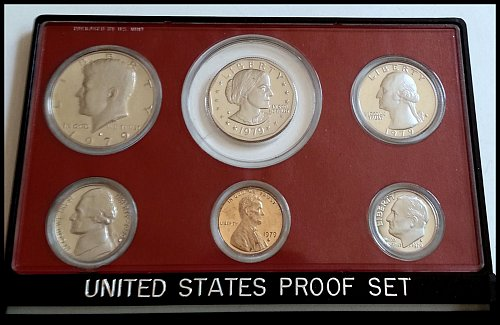 1979-S 6-coin Proof Set in US Mint Case & Packaging