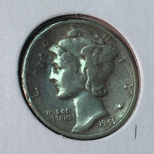 1941-S Mercury Dime (40964)