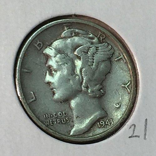 1941-S Mercury Dime (41000)