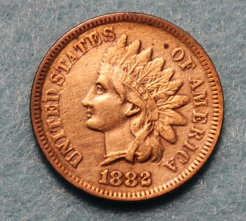 1882 P Indian Head Cent