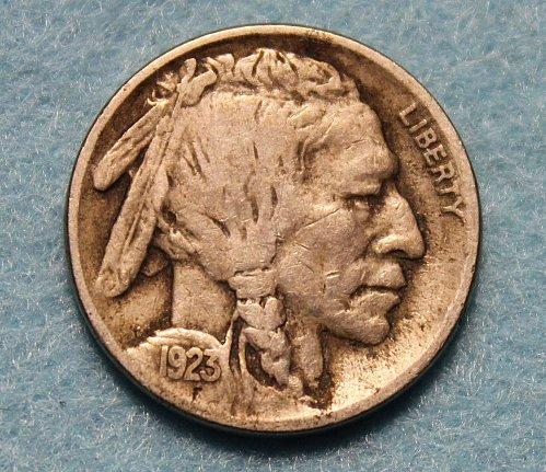 1923 P Buffalo Nickel