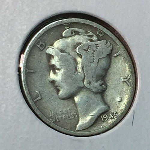 1945-S Mercury Dime (41014)