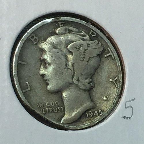 1945-S Mercury Dime (10313)