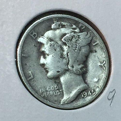 1945-S Mercury Dime (41019)