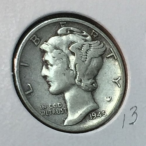 1945-S Mercury Dime (41023)