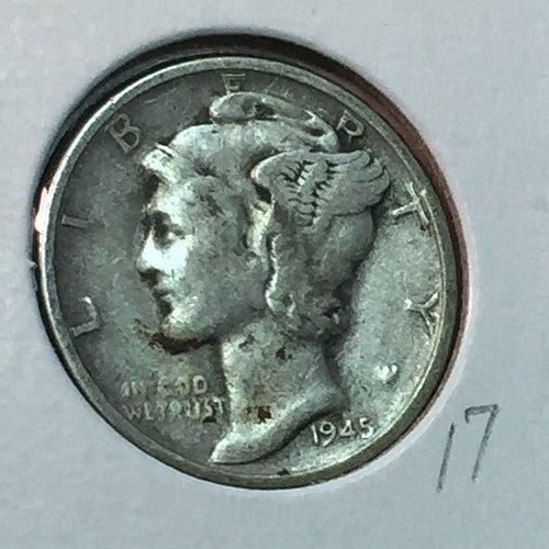 1945-S Mercury Dime (41033)