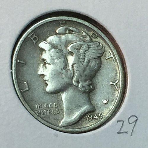 1945-S Mercury Dime (41062)