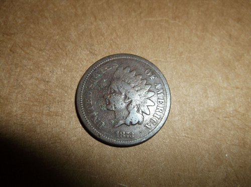 1873 P Indian Head Cent Small Cents: Closed 3