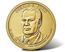 2016 S   - GERALD FORD  GOLDEN DOLLAR