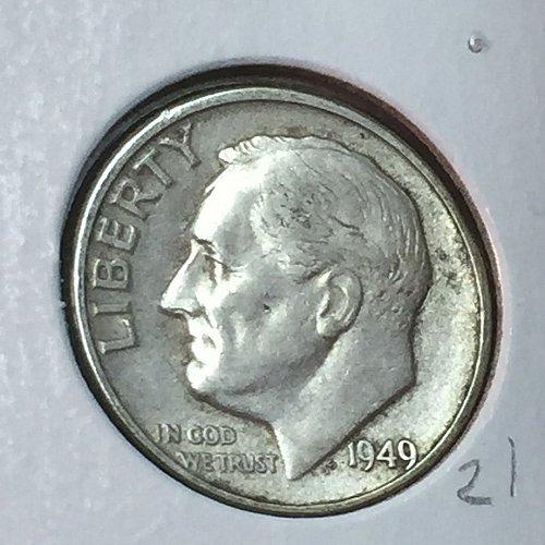 1949-D Roosevelt Dime (41109)