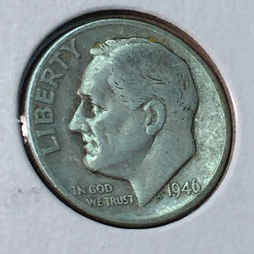 1946-P Roosevelt Dime (41164)