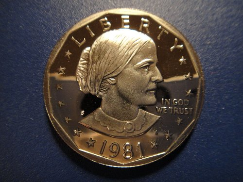 1981-S Proof Type 1 Anthony Dollar Proof-66 (GEM+) Nice Coin!