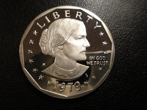 1979-S Type 1 Proof Anthony Dollar Proof-66 (GEM+) Nice Coin!