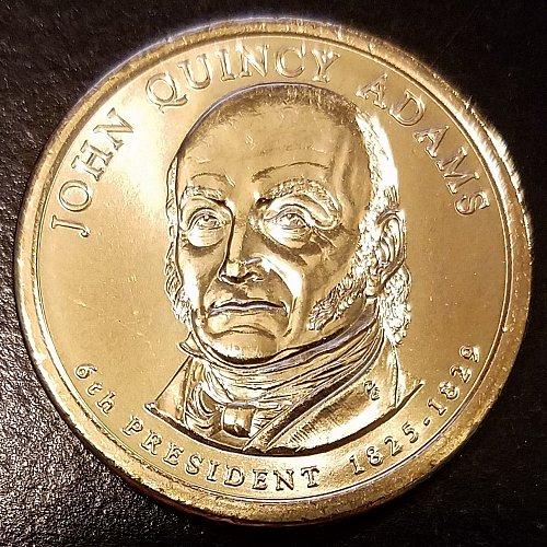 2008-P John Quincy Adams Presidential Dollar (6592)
