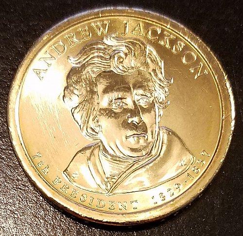 2008-P Andrew Jackson Presidential Dollar (6594)