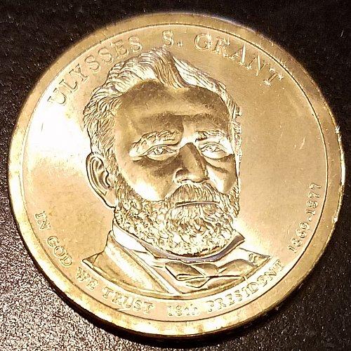 2011-P Ulysses S Grant Presidential Dollar (6596)