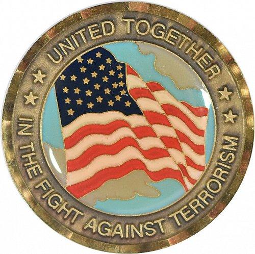 Challenge Coin, 911 Memorial, (Item 395)