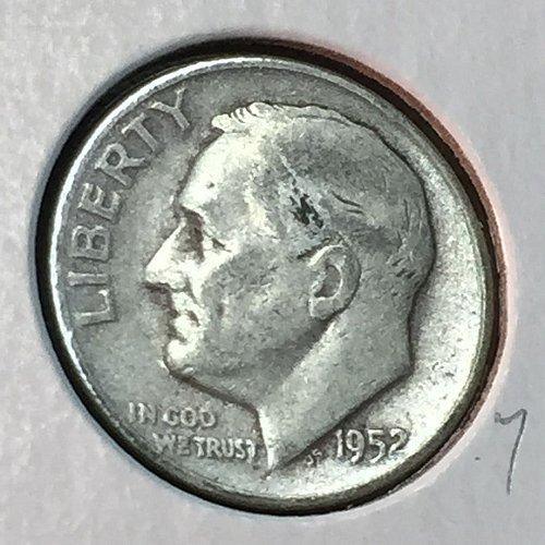 1952-D Roosevelt Dime (41174)