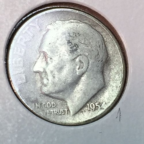 1954-P Roosevelt Dime (41179)