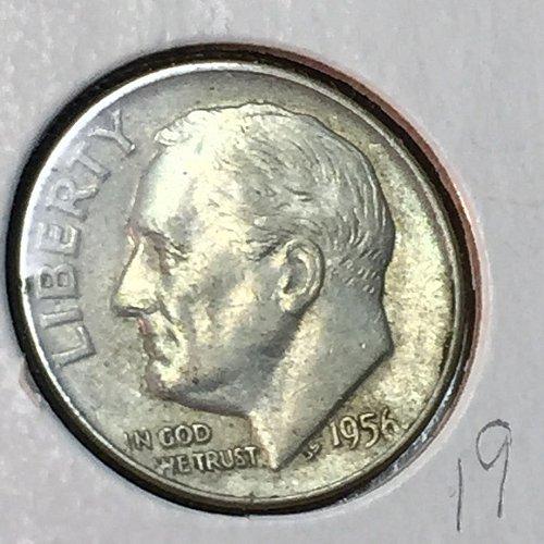 1956-D Roosevelt Dime (10317)