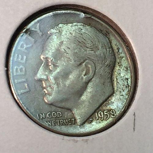 1958-D Roosevelt Dime (41191)
