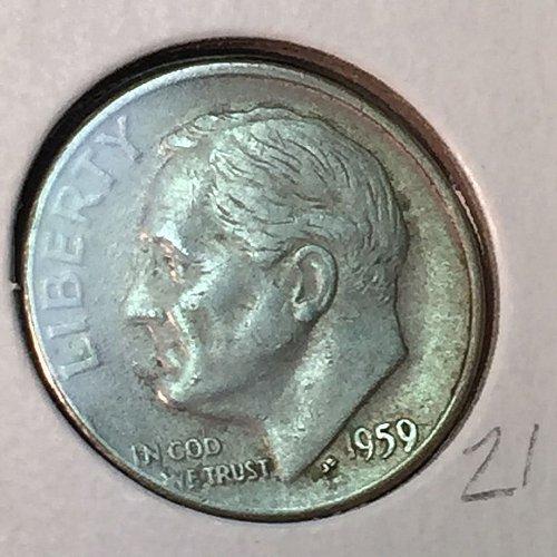 1959-D Roosevelt Dime (41203)