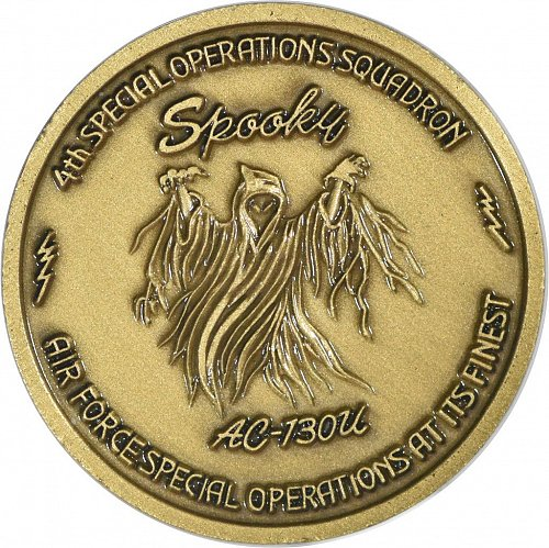 """Challenge Coin, """"Spooky"""""""