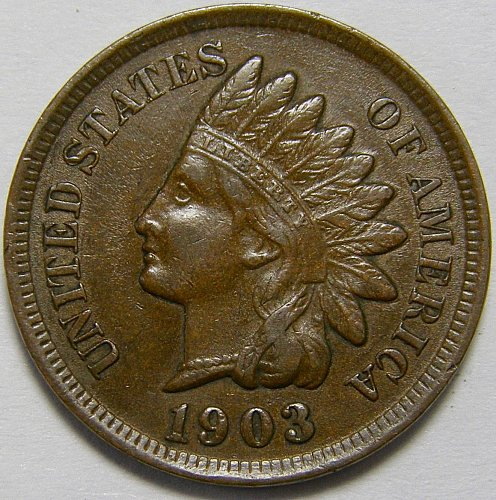 1903 P Indian Head Cent #9