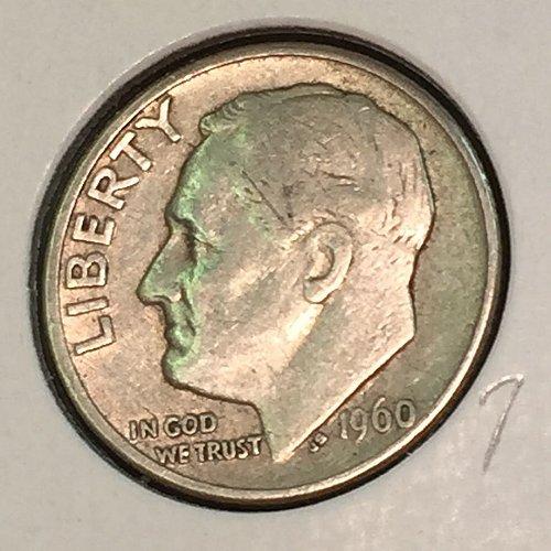 1960-D Roosevelt Dime (41208)