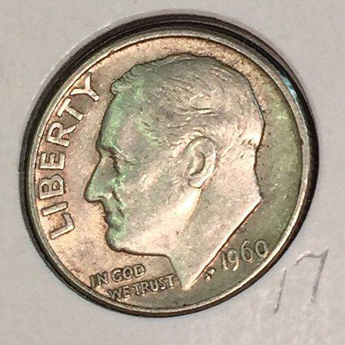 1960-D Roosevelt Dime (41213)
