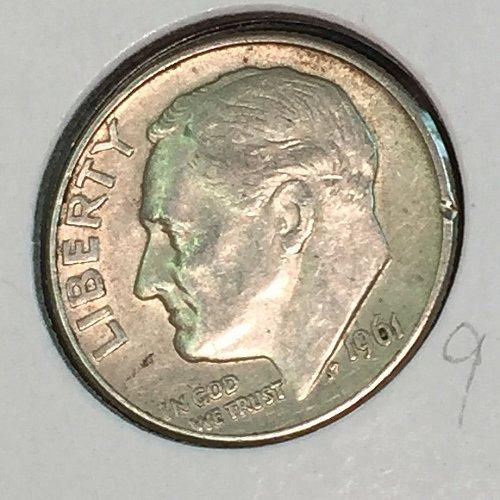 1961-D Roosevelt Dime (41221)