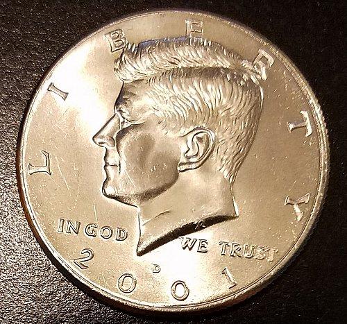 2001-D Kennedy Half Dollar (6614)